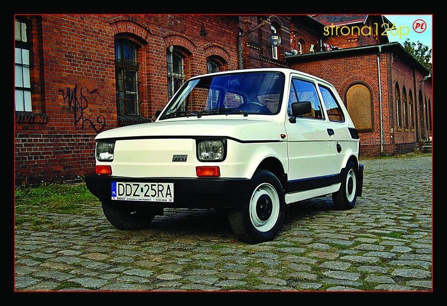 Pocztówka Fiat 126p