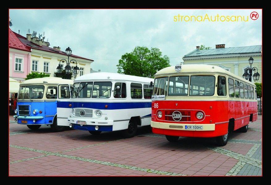 Pocztówka autobus San H01