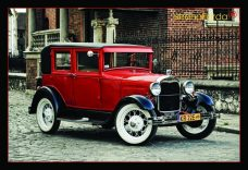 Pocztówka Ford Model A