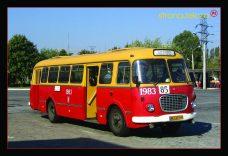 Pocztówka autobus Jelcz
