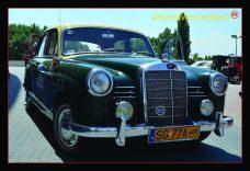 Pocztówka Mercedes