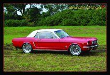 Pocztówka Ford Mustang