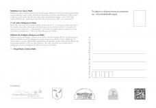 Kartka pocztowa - DUKLA - Relikwie Św. Jana - tył