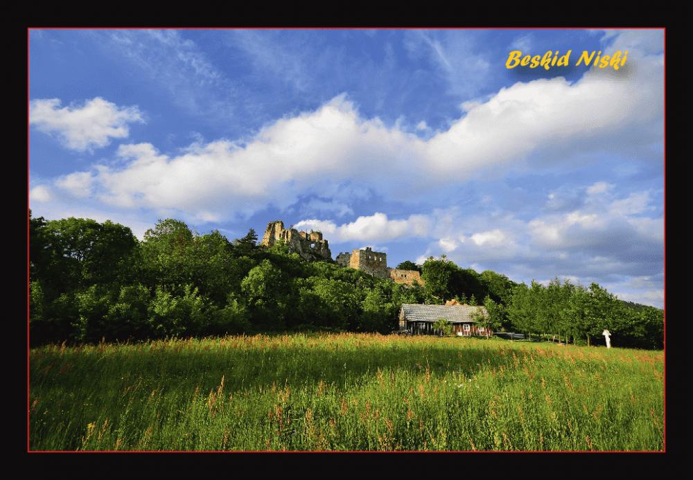 Widokówka - Zamek Kamieniec - przód