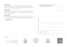 Kartka pocztowa - Rymanów Zdrój - tył