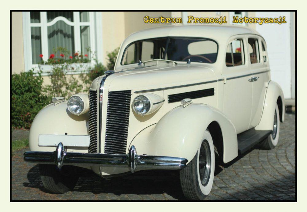 Pocztówka Buick Special przód - Historia Motoryzacji