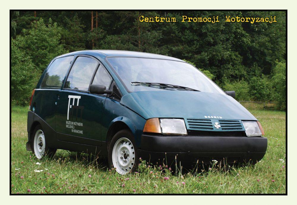 Pocztówka Beskid 106 przód - Historia Motoryzacji