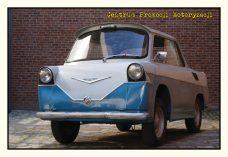 Pocztówka Smyk B30 przód - Historia Motoryzacji