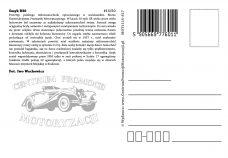 Pocztówka Smyk B30 tył - Historia Motoryzacji