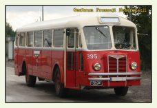 Pocztówka Autobus Chausson przód - Historia Motoryzacji