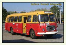 Pocztówka Jelcz 272 przód - Historia Motoryzacji