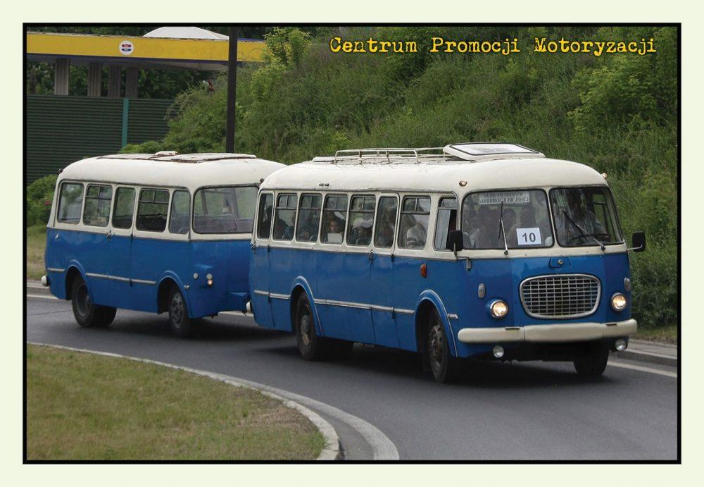Pocztówka Jelcz 043 przód - Historia Motoryzacji