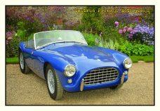 Pocztówka AC Ace Bristol przód - Historia Motoryzacji