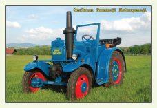 Pocztówka Bulldog przód - Historia Motoryzacji