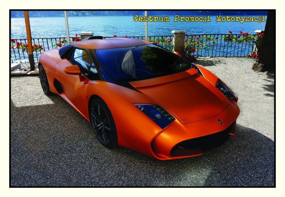 Pocztówka Lamborgini Zagato przód - Historia Motoryzacji