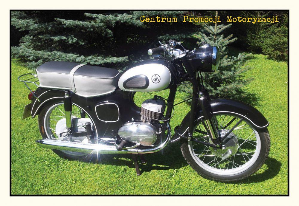 Pocztówka SHL M11 przód - Historia Motoryzacji