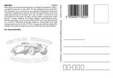 Pocztówka SHL M11 tył - Historia Motoryzacji
