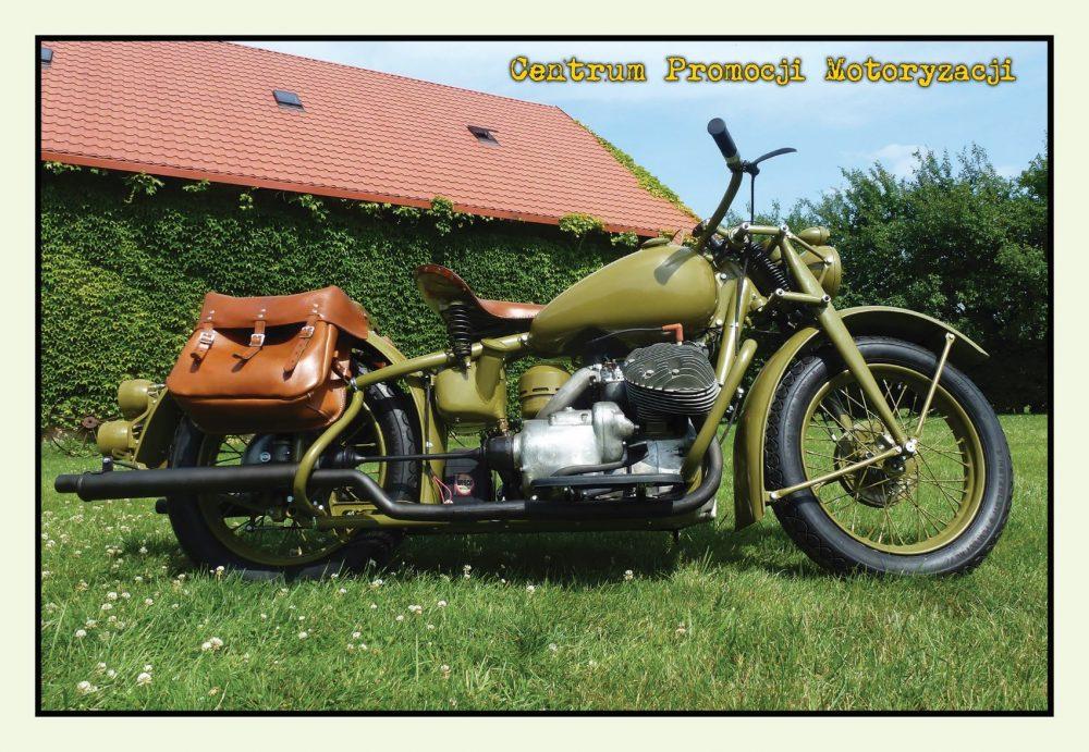 Pocztówka Indian 841 przód - Historia Motoryzacji