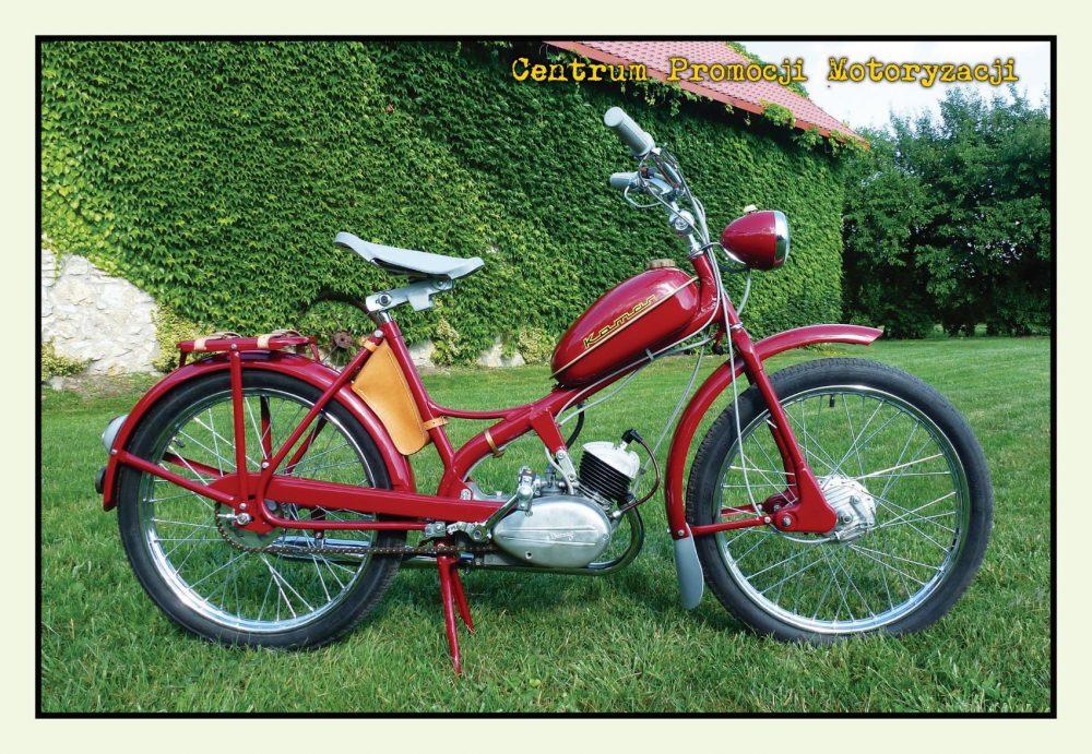 Pocztówka Komar 1960 przód - Historia Motoryzacji
