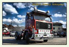 Pocztówka Volvo F89 przód - Historia Motoryzacji