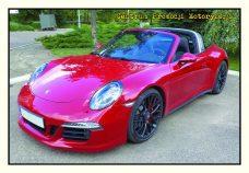 Pocztówka Porsche 911 przód - Historia Motoryzacji