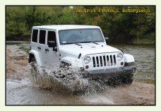 Pocztówka Jeep Wrangler przód - Historia Motoryzacji
