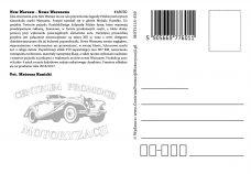Pocztówka Nowa Warszawa tył - Historia Motoryzacji